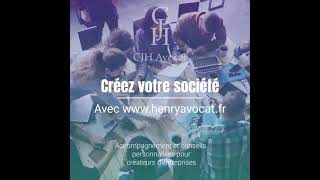 mini video CJH Avocat creation entreprise